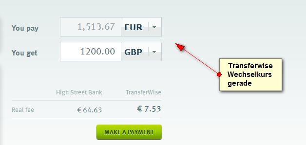 1 rate vom kredit vorher überweisen